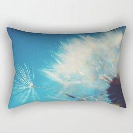 Dandelion Photograph Rectangular Pillow