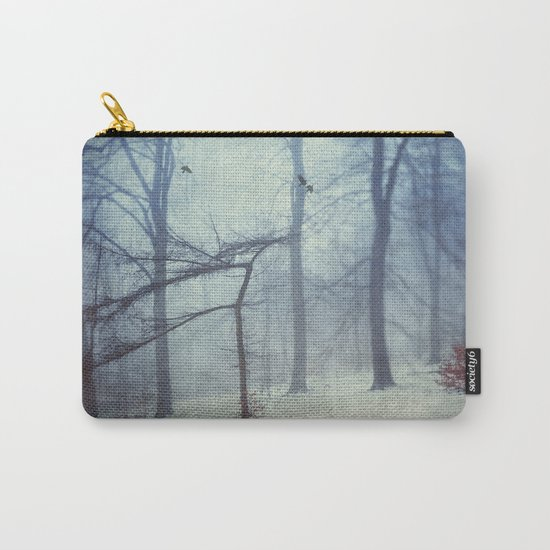 Faint Forest Carry-All Pouch