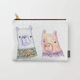 Backhand Bears Carry-All Pouch