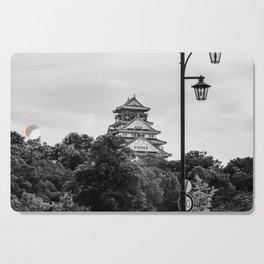 Osaka Castle BNW Cutting Board