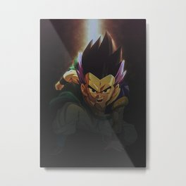 Dragon Ball Gotenks Metal Print