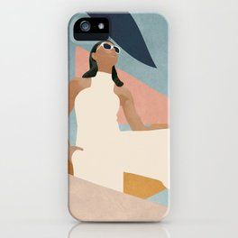 Living in Abstraction iPhone Case