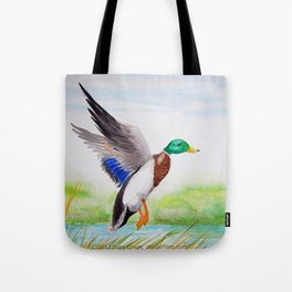 Mallad Morning in May Tote Bag