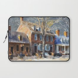 As Winter Melts Into Spring Laptop Sleeve