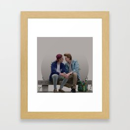 LOVE, EVAK. (light version) Framed Art Print