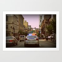 baltimore Art Prints featuring Baltimore by Reggie Thomas II Photos