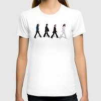 downton abbey T-shirts featuring Abbey road by eARTh