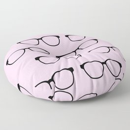 Hipster Eyeglasses Floor Pillow