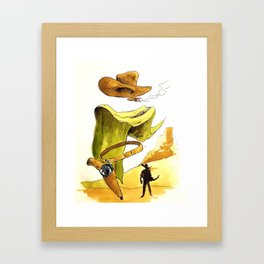 Without a name Framed Art Print