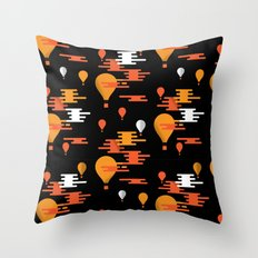 Travel - Hot Air Throw Pillow
