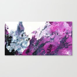 Colorful Abstract Art Our Perception of the World Canvas Print