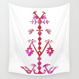 Ethnic Kilim Pattern Tree of Life Wall Tapestry