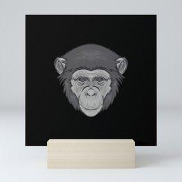 Icons of Africa - Chimpanzee Mini Art Print