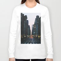 broadway Long Sleeve T-shirts featuring Broadway by cascam