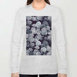 Abstract floral background 214 Long Sleeve T-shirt