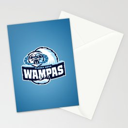 Planet Hoth Wampas - Blue Stationery Cards