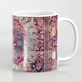 Esfahan  Antique Persian Rug Print Coffee Mug