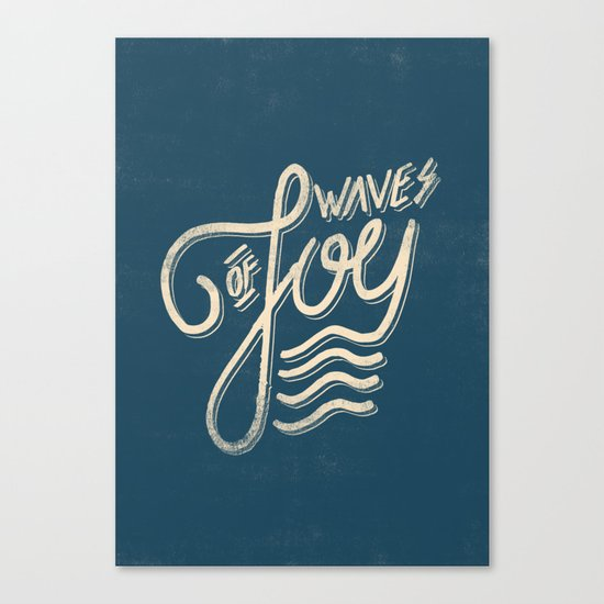 Waves of Joy Canvas Print