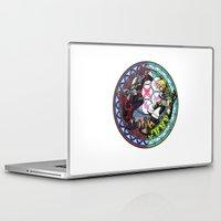 kingdom hearts Laptop & iPad Skins featuring Kingdom Hearts Vanitas & Ventus by Szilárd A Legjobb