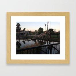 La Brea Tar Pits Framed Art Print