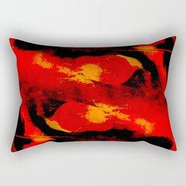 Abstract distortion Rectangular Pillow