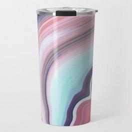Vintage colors Agate Gem Travel Mug