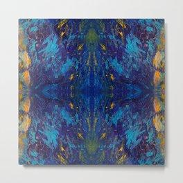 Moses Blue Metal Print