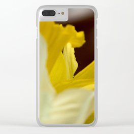 Vibrant Daffodils Clear iPhone Case