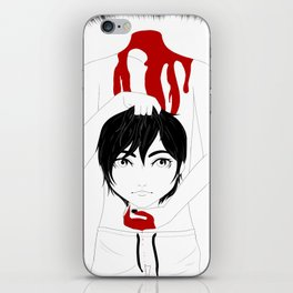 Let the human in iPhone Skin