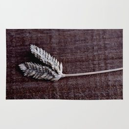 Grass Seed Rustic Art Print Digial Photography Rug