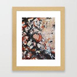 Blood Shell Framed Art Print