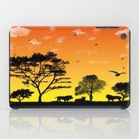 safari iPad Cases featuring Safari by Kaitlynn Marie