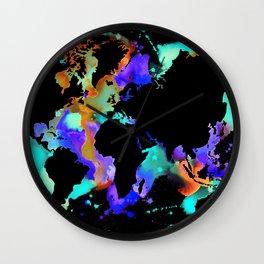 Globe trotter Wall Clock