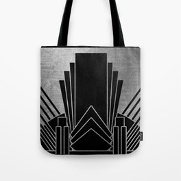 Art deco design - silver glitz Tote Bag