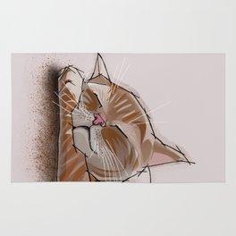 comfy cat Rug