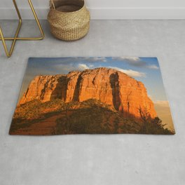 COURTHOUSE ROCK - SEDONA ARIZONA - 3 Rug