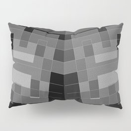 Grey H and double ... Pillow Sham