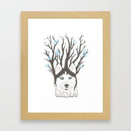 Siberian Framed Art Print