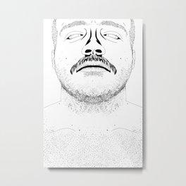 mo hair mo problems Metal Print