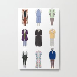 Dorothy Zbornak outfits, with bonus Metal Print