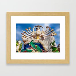 Goddess of Compassion Framed Art Print