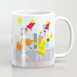 Fashionista cats- BFF Coffee Mug