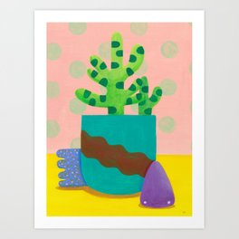 Imaginary Still Life 1 Art Print