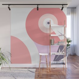 Flam in shapes Wall Mural