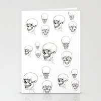 anatomy Stationery Cards featuring ANATOMY by Andreas Derebucha