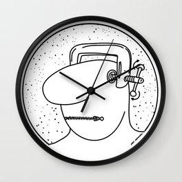 Sin Libertad Wall Clock