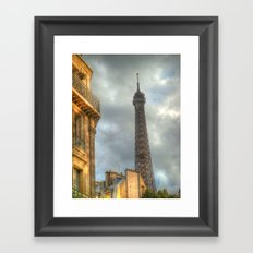 Tippy Top Framed Art Print