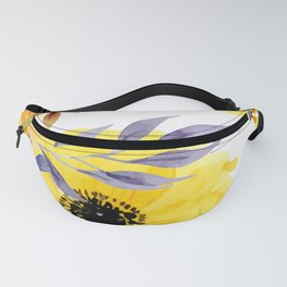 FLOWERS WATERCOLOR 10 Fanny Pack