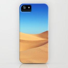 Scenic Sahara sand desert nature landscape iPhone Case