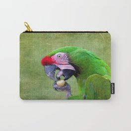 Green Macaw Carry-All Pouch